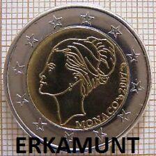 2 Euro Gedenkmünze Monaco 2007 Grace Kelly - PROBE