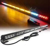 "44"" LED Strobe Lightbar Warning Emergency Response Amber w/ CARGO & BRAKE Lights"