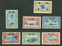Belgian Congo 1908 Collection w/ Elephant Railroad Train Mint Non Hinged W559