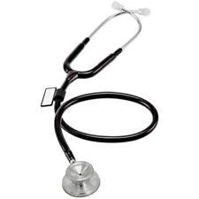 MDF Instruments Acoustica XP Lightweight Dual Head Stethoscope NoirNoir Black