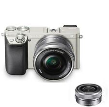 Sony Alpha a6000 Mirrorless Digital Camera with 16-50mm Lens Silver Free Express