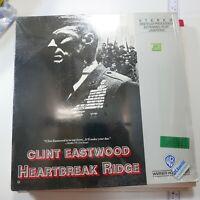 HEARTBREAK RIDGE Laserdisc LD  2 Discs GREAT FILM CLINT EASTWOOD