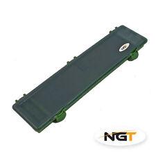 NGT Carp Fishing Hair Rig Wallet Safe Hard Case Tackle Box Hook Storage System