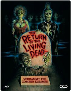 Return of the Living Dead Blu Ray Uncut Import Lenticular Futurepak New/Sealed