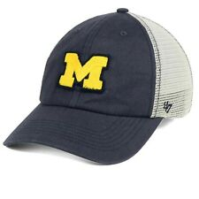 Michigan Wolverines NCAA '47 Brand S/M Tally Closer Flexfit Fitted Cap Hat