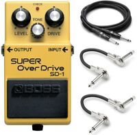 New Boss SD-1 Super OverDrive Guitar Effects Pedal!