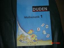 DUDEN Mathematik Klasse 1