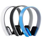 AEC Wireless Bluetooth Stereo Headphone Headset Earphone w/ Mic for Phone Laptop