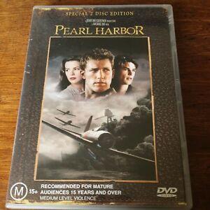 Pearl Harbor DVD R4 VERY GOOD - FREE POST