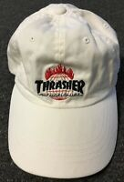 Huf X Thrasher Hat Baker Skateboards Welcome F Cking Awesome Spitfire Dqm Real