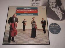 3 LP BOX/BEETHOVEN/DIE FRÜHEN STREICHQUARTETTE/QUARTETTO ITALIANO/Philips6747481
