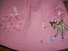 Disney Bambi Girls Pink Top 0-3 Months