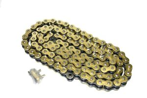Motorcycle Drive Chain 520-102 Gold for Honda NX250 1988-93