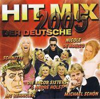 """HIT MIX 2005  """"Der Deutsche"""" 2CD-Box ZYX Music 2004 NEU & OVP 36 Tracks"""
