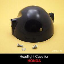 Honda CG110 CG125 XL125 XL175 XL250 Headlight Black Case Bucket + Screw + Washer