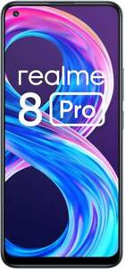 "Realme 8 Pro (RAM 6GB, 128GB) 6.4"" 108MP Camera Dual SIM GoogleplayPhone"