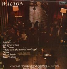 Choir Of Christchurch Cathedral(Vinyl LP)Walton-Argo-ZRG 725-UK-1972-VG+/NM
