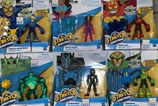 Lot of 6 Stretch Armstrong and the Flex Fighters Monster Blindstrike Walmart