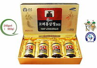 2ea or 4 ea X 240g(8.5oz) 6 Years KOREAN RED GINSENG Extract Root/ Saponin,Panax