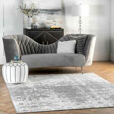 nuLOOM Contemporary Modern Abstract Deedra Area Rug in Grey Multi