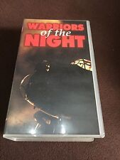 VHS Tape. Warriors Of The Night