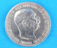 5 Kronen 1909 Franz Joseph St. Schwartz Corona Silber Münze Kaiserreich TOP