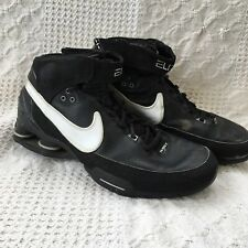 efb8d713de544b Mens Nike Elite Family Shox Black Basketball Athletic Shoes Size 9 Black  White