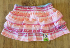 GARANIMALS Baby Girls' Light Pink Printed Tier Scooter Skorts 0-3m