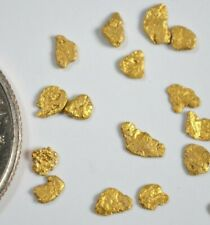Alskan /& California gold-.2 Gram Gold Nuggets--Flakes-solid gold-Bri/'s-18k-22k-$