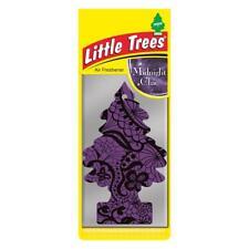 4 X Piccolo Magic Tree Deodorante Auto MEZZANOTTE Chic Freshner 2D