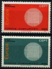 Turkey 1970 SG#2327-8 Europa MNH Set #D62284