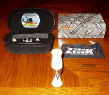ZINK MONEY MAKER ACRYLIC GOOSE CALL+CASE+TARSAL BAND+DVD+EXTRA REEDS IVORY NEW!