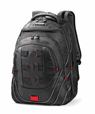 "Samsonite Tectonic PFT 17"" Backpack - Black/Red Laptop Backpack NEW"