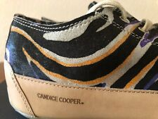 Candice Cooper Femmes Sneaker d4160 rockdeluxe Zip vintiage fatti taille 37-41 Neuf