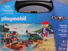 Playmobil US 9102 Pirate Raider Carry Case Soldat Kanone Schatz Boot NEU NEW