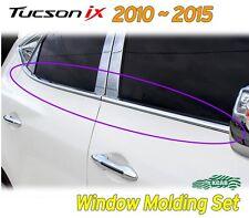 Window Accent Molding Chrome Garnish4p K034 for Hyundai 2010-2015 Tucson iX ix35
