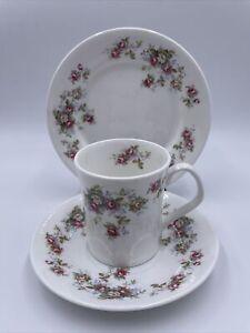 Vintage,Elizabethan Rosamond Tea set,Tea Cup & Saucer & Side Plate Great Gift