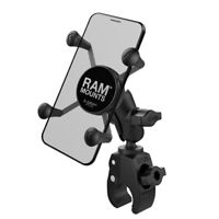 RAM-B-400-A-HOL-UN7BU RAM X-Grip Phone Mount w/ RAM Tough-Claw Small Clamp Base