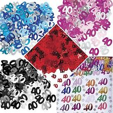 Age 16 18 21 30 40 50 60 70 80 90 TH Birthday Confetti Party Table Decoration UK