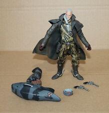 2001 Metal Gear Solid 2 Sons of Liberty Revolver Ocelot Action Figure McFarlane