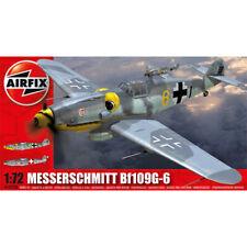 Airfix Messerschmitt Bf109G-6 German WWII Military Plane Model Kit 1:72- A02029A