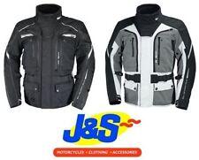 Blousons gris iXS pour motocyclette