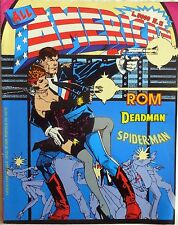ALL AMERICAN COMICS N.11 1990 ROM DEADMAN SPIDER MAN