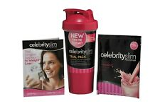 Celebrity Slim Trial Shaker Pack   Strawberry Flavour   Weight Loss Management