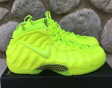 Nike Air Foamposite PRO Volt Black 624041-700 Men's Size 12