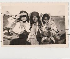 Old Photo Original Gypsy Women. Romania
