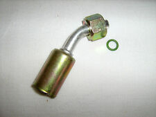 AC A/C FITTINGS,BEADLOCK  CRIMP ON  FEMALE O RING  45 DEGREE  #6 0080 BL1311