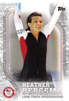 2018 Topps US Winter Olympics Silver Trading Cards Pick From List