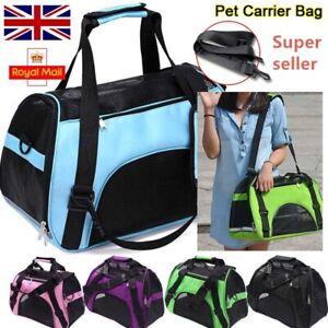 Pet Carrier Bag AVC Portable Soft Fabric Folding Dog Cat Puppy Travel Transport