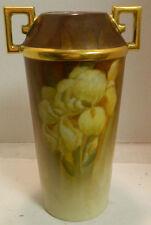 "Vintage CT Altwasser Selisia Double Handled Iris Vase 10.5"" x 4.5"" Excellent"